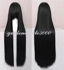 """40""""100cm Extra Long Straight 8 Colors Cosplay Costume Wig Party Wigs"""