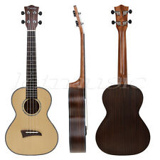Kmise Solid Spruce Top Tenor Ukulele 26 Inch Hawaii Guitar Rosewood Back