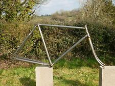 ANTIQUE VINTAGE BICYCLE FRAME & FORKS 1910-1920 NEW HUDSON RAT BIKE PATH RACER