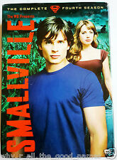 SMALLVILLE Complete Fourth Season 4 - 6 DVD Box Set - Superman - Excellent Used