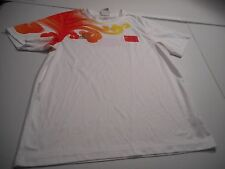 China Beijing Olympics Adidas 2008 Boys XL White Short Sleeve T-Shirt