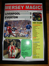 Liverpool 3 Everton 2 - 1989 FA Cup final - framed print