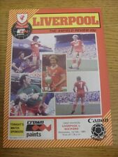 01/02/1984 Liverpool v Watford [Liverpool Championship Season] .  Thanks for tak
