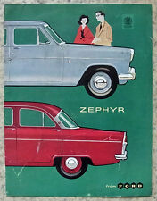 FORD ZEPHYR Car Sales Brochure 1959-60 #Z/N1379/1059