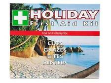 Compact Holiday Basic First Aid Kit - Overseas Travelling Vacation Medic Travel