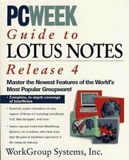 PC Week Guide to Lotus Notes Release 4 Mann, Eric, Litton, Gerry Paperback
