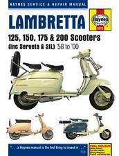 Haynes Service & Repair Manual: Lambretta 125, 150, 175 and 200 Scooters by...