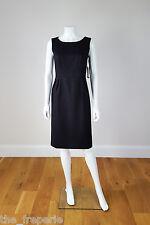 *PURE COLLECTION* TULIP SKIRT BLACK SHIFT DRESS (UK 8)