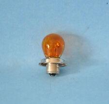 LAMPADA A SCODELLINO ARANCIO LUCE LAMPADINA 12V 15W ZOCCOLO P 26 S VESPA APE
