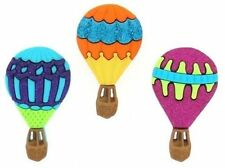 Jesse James Dress It Up Buttons  Hot Air Balloons # 696 Flat Rate Shipping