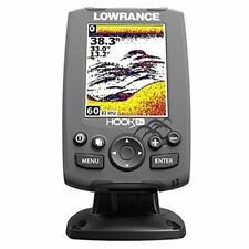 Lowrance Elite-3X Fishfinder with 83/200 Transducer Depth Finder Fish Locator