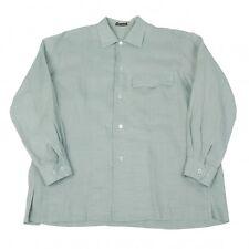 ISSEY MIYAKE MEN Ramie Long Sleeves Shirt Size M(K-42993)