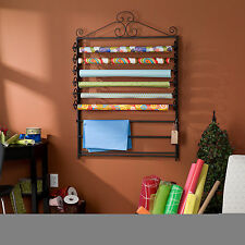 Harper Blvd Leal Black Wrapping Paper & Craft Storage Rack