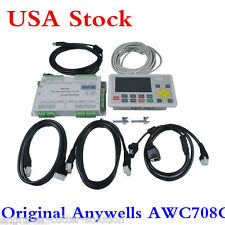 USA Trocen Anywells AWC708C LITE Laser Controller System CO2 Laser Cutter System