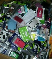 Bulk Wholesale lot of 50  Various Mixed Cell Phone Cases and Accessories. LOOK!!