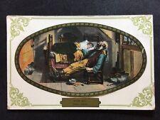 """Vintage Postcard - Other Card - #A6 - """" Worn Out"""" - Ettlinger - 1908"""