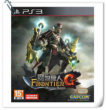 PS3 Monster Hunter Frontier G 怪物猎人边境G 中文版 Sony Playstation Games Action Capcom