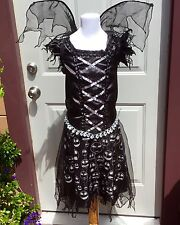 DISNEY PARIS NIGHTMARE BEFORE CHRISTMAS SKELLINGTON SALLY COSTUME DRESS ADULT L