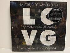 LA OREJA DE VAN GOGH -COMETAS EN DIRECTO DESDE AMERICA - CD + DVD - NUEVO-SEALED