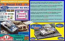 ANEXO DECAL 1/43 FORD ESCORT RS 1800 MK II ROTHMANS A.VATANEN R.MONTECARLO  (01)