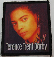 TERENCE TRENT D`ARBY Vtg 80`s/90`s Printed Sew On Patch
