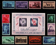 1956 Commemorative Year set (13 Stamps) - MNH