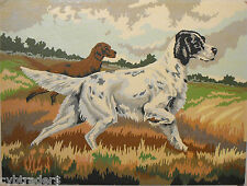 Bird Dog Retriever  Scene  Paint By Number  Refrigerator / Tool  Box  Magnet
