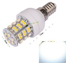 E14 48 SMD 3528 LED Warm White Energy Saving High Power Light Lamp Bulb 220-240V