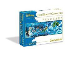 1000pcs Disney Panorama PZL-MIELEC Peter Pan-PUZZLE-CLEMENTONI 39286