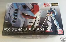 Bandai Hobby Real Grade RG Gundam RX-78-2 Action Figure Model Kit 1/144 Scale
