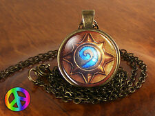 WoW World of Warcraft Hearthstone Game Cosplay Necklace Pendant Jewelry Art Gift