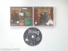 Railroad tycoon 2 II PC FR