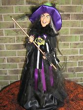 """RARE 28"""" RETIRED HORCHOW HALLOWEEN WITCH DOLL CONE!"""