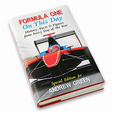 F1 Personalised Formula 1 On This Day Book - Birthday or  Christmas Gift For Him