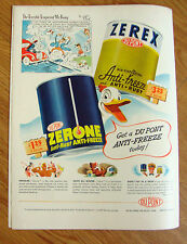 1948 Zerex DuPont Anti-Freeze Zerone Ad The Terrible Tempered Mr. Bang by F.Fox