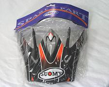 Suomy Spectre helmet visor -Matte Black / Orange