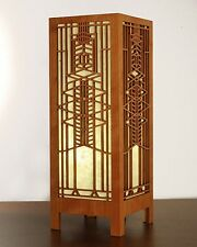 "Frank Lloyd Wright Frederick Robie House Window 15.5"" Table Lamp Lightbox"