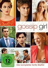 GOSSIP GIRL, Staffel 5 (5 DVDs) NEU+OVP