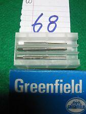 3 Greenfield 6-32taper plug and bott.taps