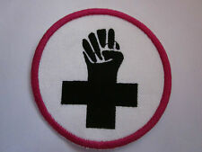 Feminist women power Fist Emblem Iron on Patch FREE NORTH AMERICA SHIPPING