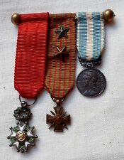 MINI MEDAILLES WWI 1914-1918 LEGION HONNEUR ORIGINAL SMALL SIZE FRENCH MEDALS