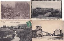 Lot de 4 cartes postales anciennes DOMREMY jeanne d'arc 3