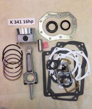 ENGINE REBUILD KIT for KOHLER 16HP K341 and M16 with an actual 16hp rod not 12hp