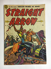 Straight Arrow #6 VG+ solid  ME comic 1950