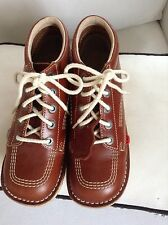 Womens Kickers Ankle Boots Tan size 5