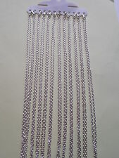 UK Wholesale Jewellery 48 X 18 inch 2mm Silver Trace Link Necklace Pendant Chain