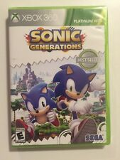 Sonic Generations - Xbox 360 Xbox 360 Sealed Fast Ship