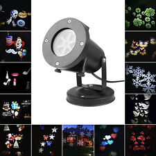 LED Laser Star Snowflake Light Dynamic Outdoor Christmas Decoration Home Garden