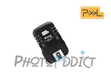 Récepteur additionnel Trigger flash E-TTL PIXEL KING pour Sony