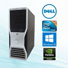 Dell Precision T5500 Workstation Xeon 3.06Ghz 12GB 2TB FX3800 Win10 Pro